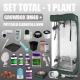Zestaw TOTAL - 1 roślina - Growbox DM40 + PhytoLED Clorofilla 86W