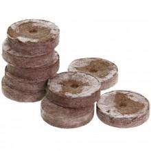 Swelling peaty roller, pH6, 24m, 1 pcs.