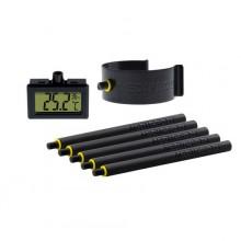 TermoHigrometr MEDIPRO, z uchwytem do gniazda E40. -50/+70°C, 10-99% RH