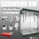 Complete Kit: Growbox DiamondRoom 200x100x200cm + 2 x Phytoled NX2