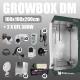 Zestaw do uprawy: Growbox DM 100x100x200cm + 2 x CFL 300W