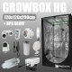 Complete Kit: Growbox Herbgarden 120 + HPS 600W