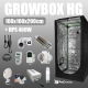 Complete Kit: Growbox Herbgarden 100 + HPS 400W