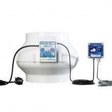 Wentylator PK250-ECblue 1450m3/h + cyfrowy regulator prędkości i temperatury