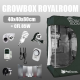 Complete Kit: Growbox RoyalRoom 40x40x80cm + CFL 85W