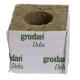 GRODAN 10x10x10cm, kostka z wełny mineralnej, otwór fi 42mm, 1szt.