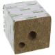 Grodan Rockwool Block 15x15x14.2cm Holes 25mm & 40mm (1 pc)