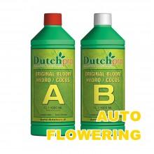 Dutch Pro Hydro/Coco Bloom A+B 1L AUTO FLOWERING, nawóz na kwitnienie, do kokosu