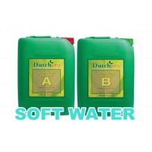 Dutch Pro Soil Bloom A+B 5L SOFT WATER, nawóz na kwitnienie, do wody miękkiej