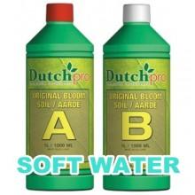 Dutch Pro Soil Bloom A+B 1L SOFT WATER, nawóz na kwitnienie, do wody miękkiej