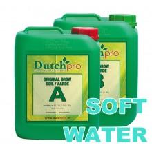 Dutch Pro Soil Grow A+B 5L SOFT WATER, nawóz na wzrost, do wody miękkiej