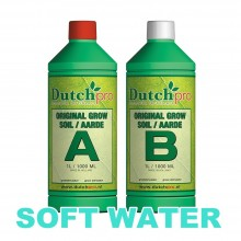 Dutch Pro Soil Grow A+B 1L SOFT WATER