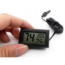 Elektroniczny Termometr i Higrometr 2w1, z sondą na kablu