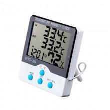 Stacja pogody, termohigrometr, zegar. 5w1 (in/out)