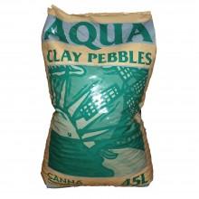 Canna Aqua Clay Pebbles 45L, granulat ceramiczny do hydro/aero