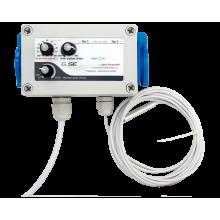 Digital temperature controller MIN / MAX and pressure (2 fans) 3A FC11-203EU