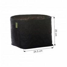 GRONEST Fabric Pot 15L 24,5x24,5xh25cm