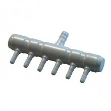 Hailea air distributor 1x8mm / 6x4mm
