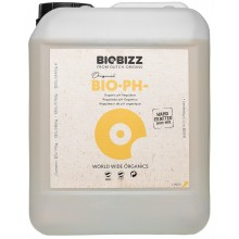 BioBizz pH Minus 5L, organiczny regulator obniżający pH