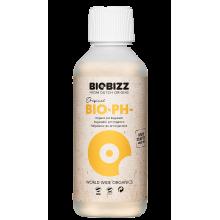 BioBizz pH Minus 250ml, organiczny regulator obniżający pH