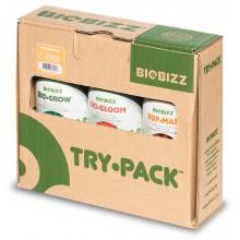 BioBizz Try Pack INDOOR 3x250ml, zestaw nawozów organicznych