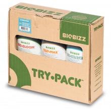 BioBizz Try Pack HYDRO - zestaw organicznych pożywek, 3x250ml