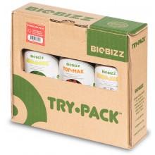 BioBizz Try Pack STIMULANT - zestaw organicznych pożywek, 3x250ml