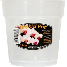 Growth Technology Clear Orchid Pot 13cm