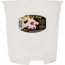 Growth Technology Clear Orchid Pot 19cm