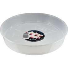 Growth Technology Clear Saucer 16.5cm