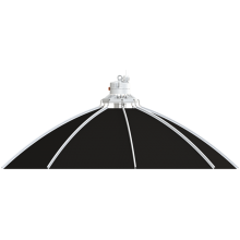 Odbłyśnik Secret Jardin Daisy fi80cm, do lamp CMH, max. 315W