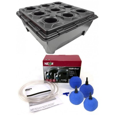 Hydroponic system Nutriculture DWC Oxypot 110L, for 9 plants
