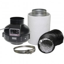 Ventilation Kit fi 125 mm [ 400 m3/h ]