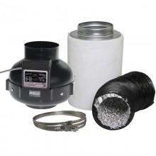 Zestaw wentylacyjny Prima Klima fi125mm 220-400 m3/h