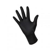 Powder-free nitrile gloves NITRYLEX BLACK L, 20 units, (10 pairs)
