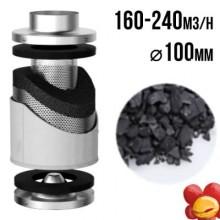 VF filtr węglowy PRO-ECO 160-240m3/h, fi 100mm
