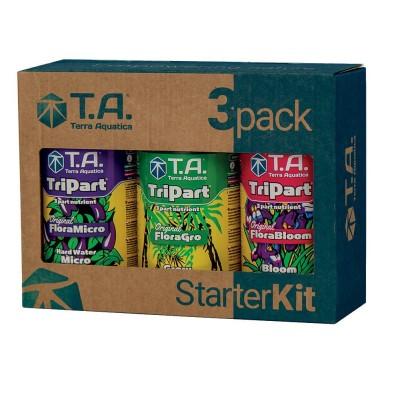 Terra Aquatica 3PACK Starter Kit Flora Hard