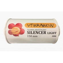 Silencer VF Krakow 150mm, super-quiet and light