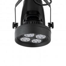 Lighting set VERTICANA 3x bulb + holder + rail, black, 45 ° lens