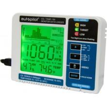 HYDROFARM Autopilot Desktop CO2, Temperature, Humidity Monitor, Data Logger