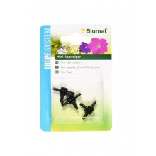 BLUMAT Mini T connector 3-3-3, 3 pieces in blister