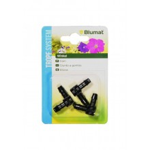 BlUMAT Elbow connector 8-8, 3 pieces in blister