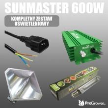 SUNMASTER 600W, complete lighting kit