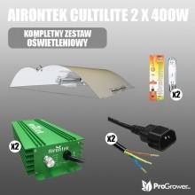 Airontek Cultilite  2 x 400W, complete lighting kit