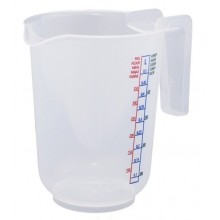 Container with measuring 0,5L