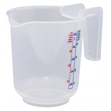 Container with measuring 0,25L