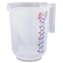 Container with measuring 1L