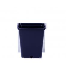Square pot, 1 L, 11.5 x 11.5 x 12.3 cm