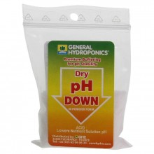GHE PH-Down 25g, regulator obniżający PH w proszku