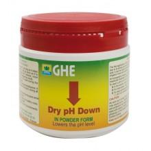 GHE pH-Down 250g, regulator obniżający PH w proszku